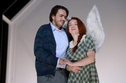 Rodrigo Porras Garulo as Rodolfo and Izabela Matula in Oper Wuppertal's production (c) Jens Grossmann